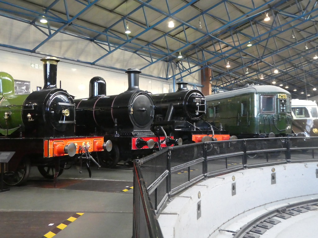 Turntable, National Railway Museum, York