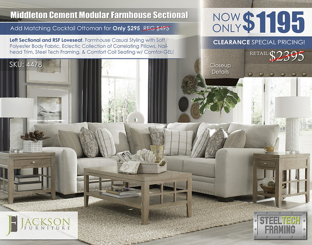 Middleton Cement Smaller Modular Farmhouse Sectional_4478_ju1652