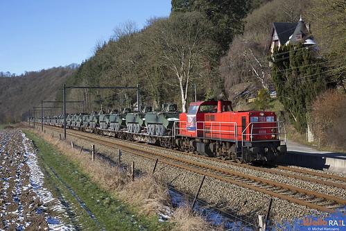 6518 . DB Cargo . Z 41581 . Hamoir . 13.02.21.