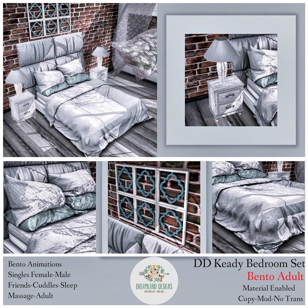 DD Keady Bedroom Set-Adult AD