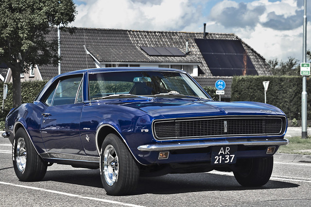Chevrolet Camaro RS Sport Coupé 1967 (1546)