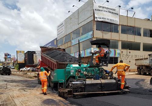 Força-tarefa é resposta rápida na limpeza de Vicente Pires pós-temporais