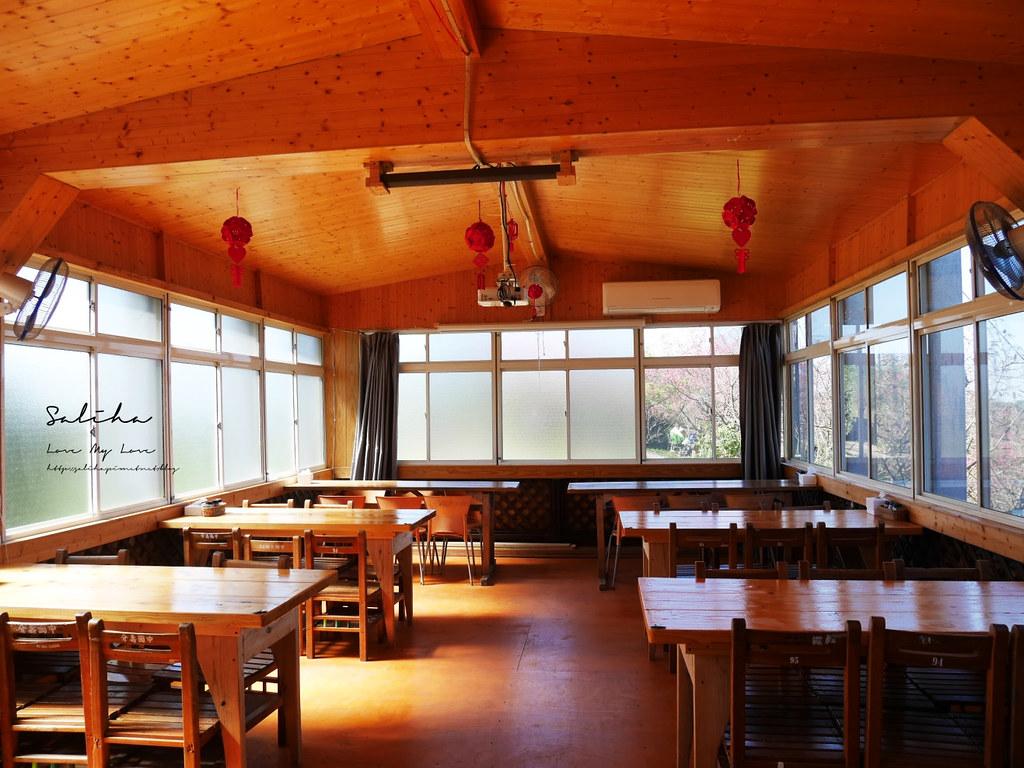 新店景觀餐廳看櫻花風景好騰龍御櫻 披薩咖啡廳下午茶輕食賞櫻踏青 (2)