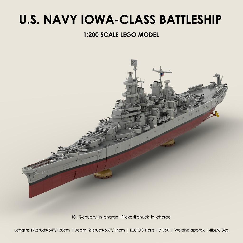 Iowa-Class Battleship Cover Photo
