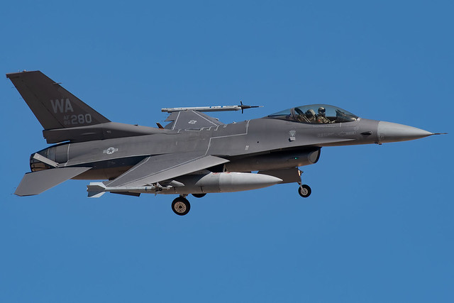Lockheed Martin F-16C 86-0280 64th AGRS, Nellis AFB