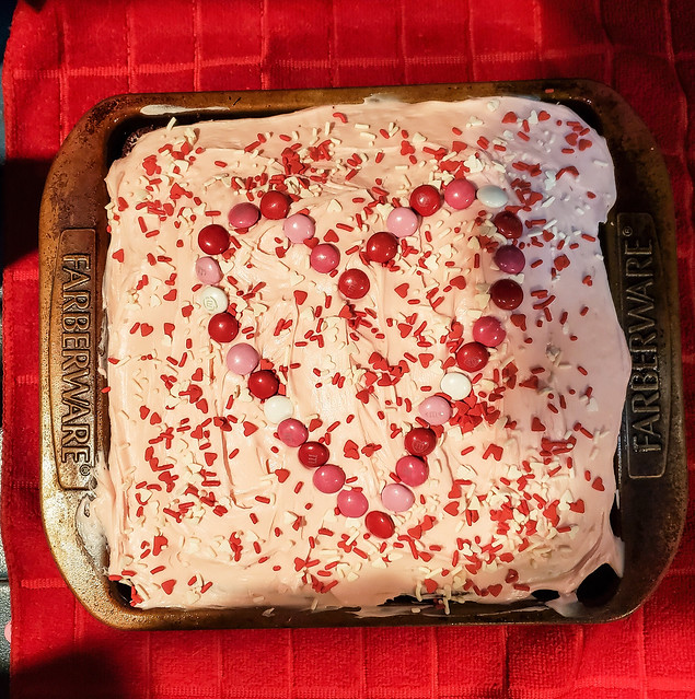 Valentine's Day Cake!!