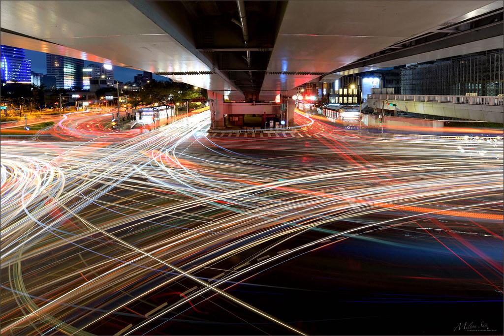 An Evening Intersection