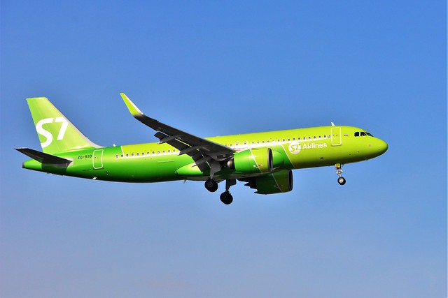 (ORY) Siberia Airlines Airbus A321-271  VQ-BSD Landing runway 06 from Moscou