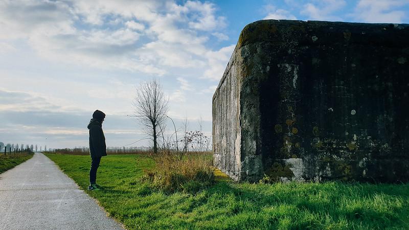 Bunker bij het Groot Moerhof