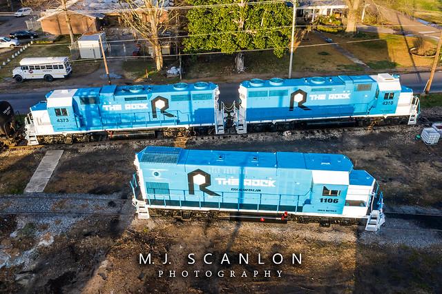RI 1106 | EMD GP15-1 | Mississippi Delta Railroad
