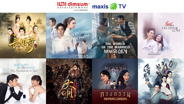 Dimsum Entertainment x Maxis TV 2.0