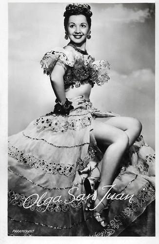 Olga San Juan in Blue Skies (1946)