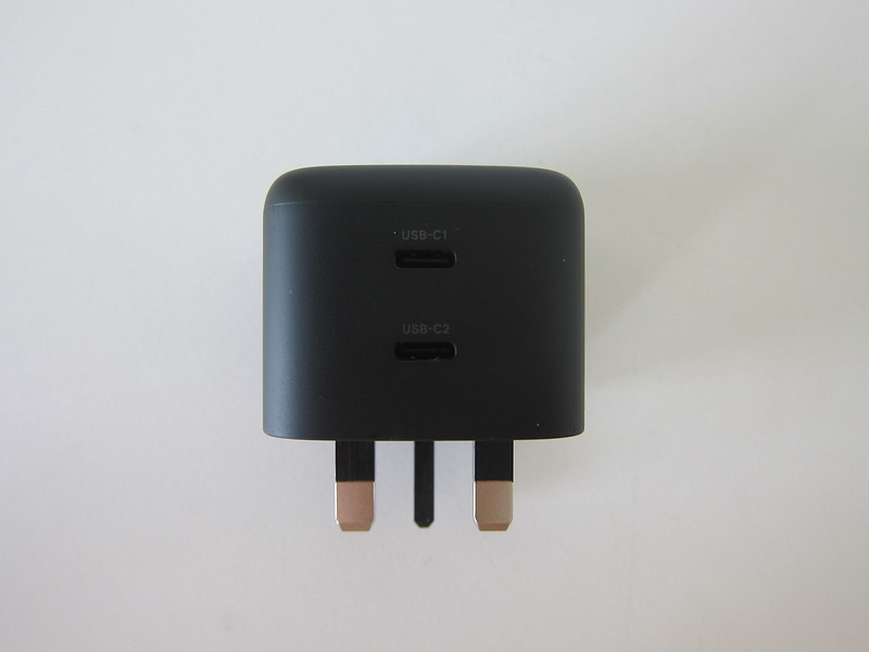 Ugreen 65W GaN Dual USB-C Charger - Front