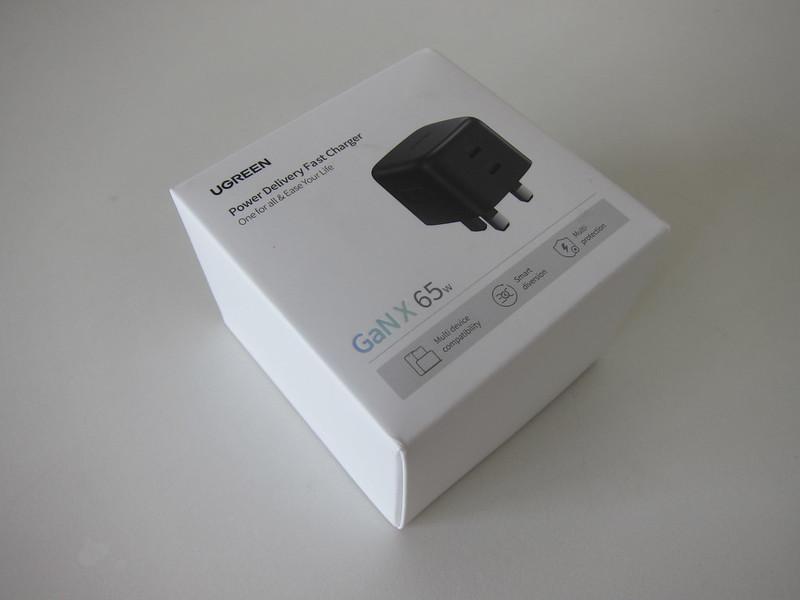Ugreen 65W GaN Dual USB-C Charger - Box