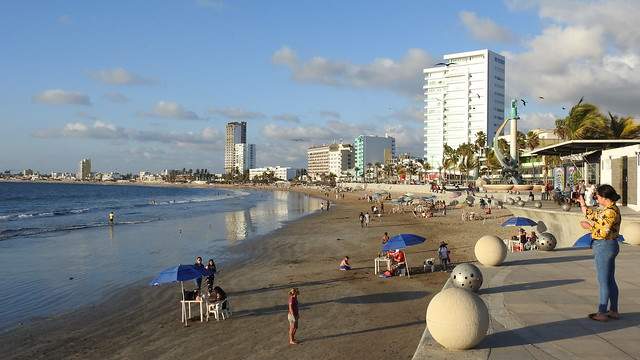 Evening Walk to North Beach
