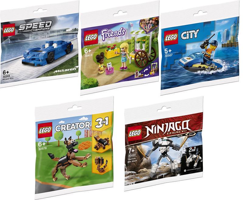 LEGO 2021 Polybags Asda