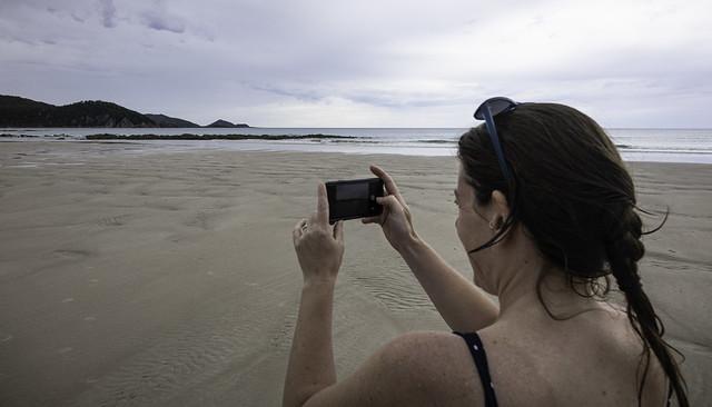 Video phone, Sisters Beach, Tasmania-6