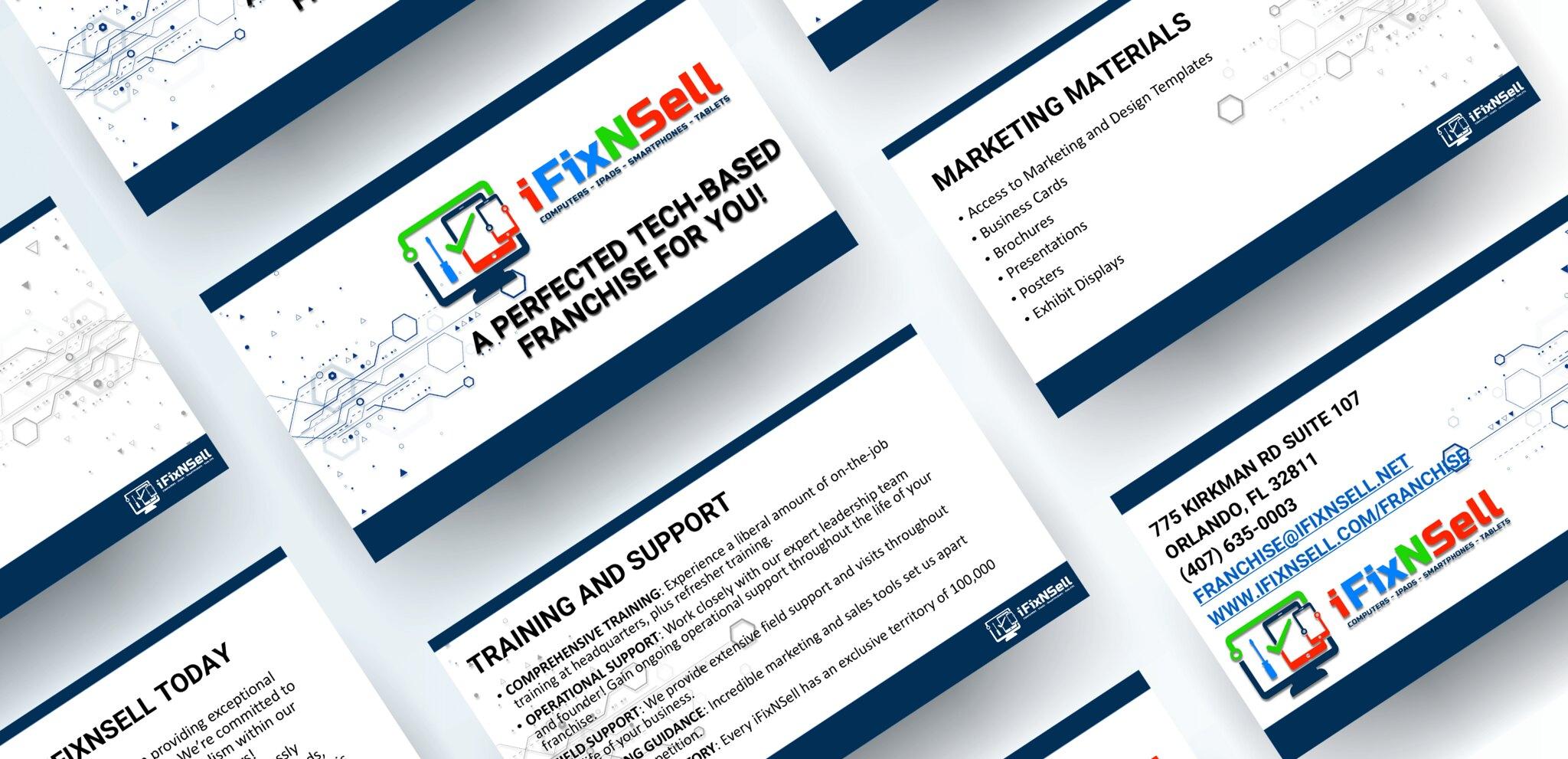 iFixNSell Presentation Digital Collateral Design Tuyen Chau