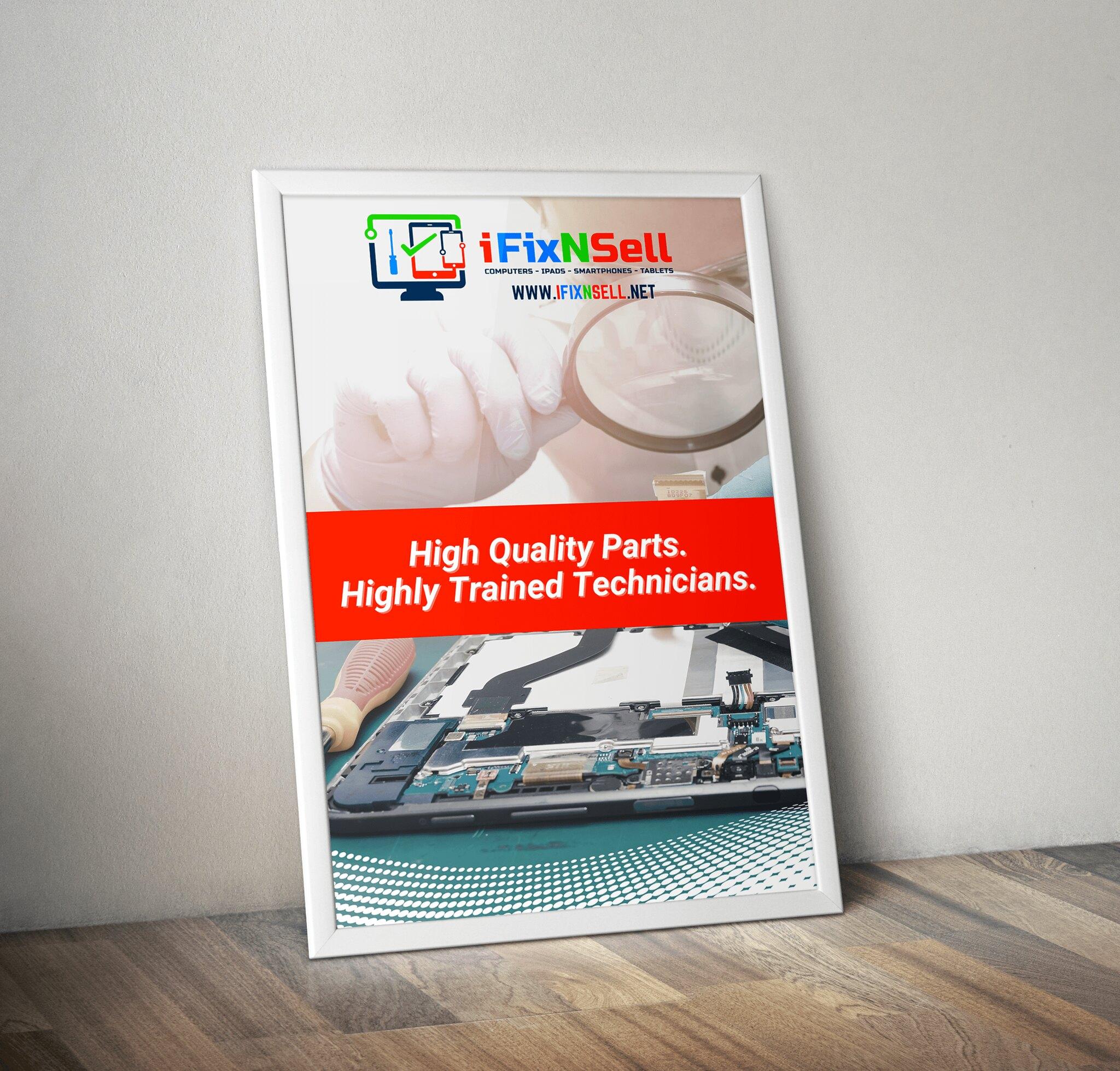 iFixNSell Poster Design Tuyen Chau