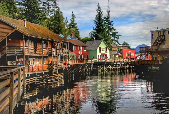 Creek Street Ketchikan, Alaska