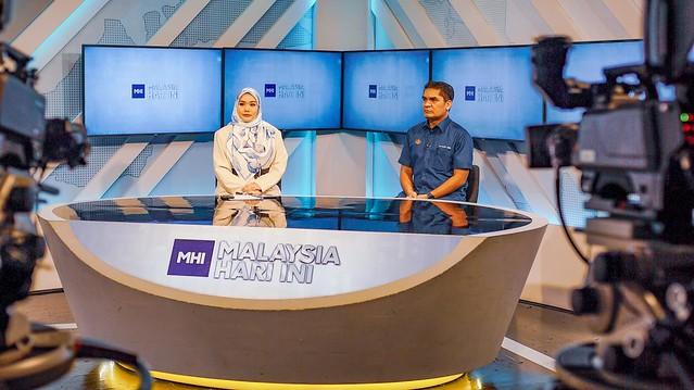 Datuk Dr Mohd Radzi Md Jidin Ditemubual Di Rancangan Malaysia Hari Ini