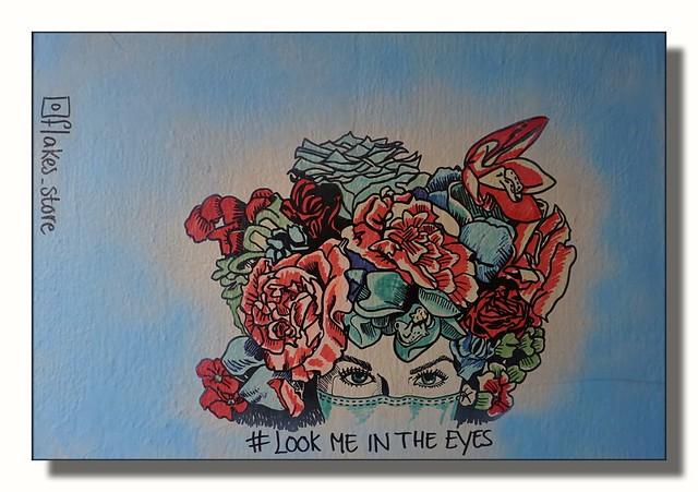 Look me in the eyes - Street-Art