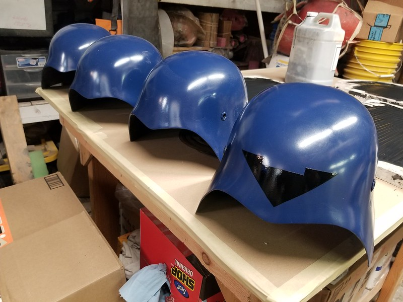 Cobra Trooper Helmet Lineup