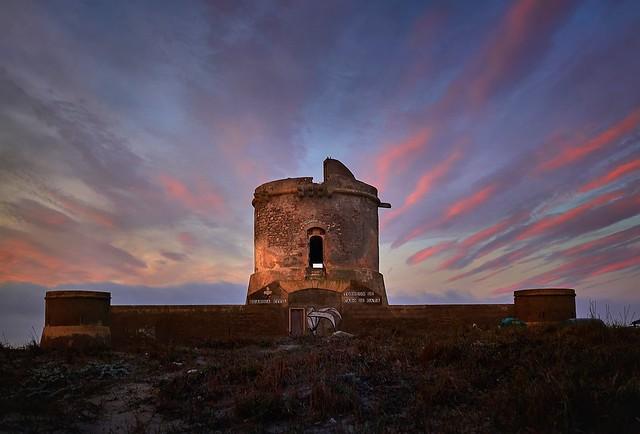 Torreón al amanecer.