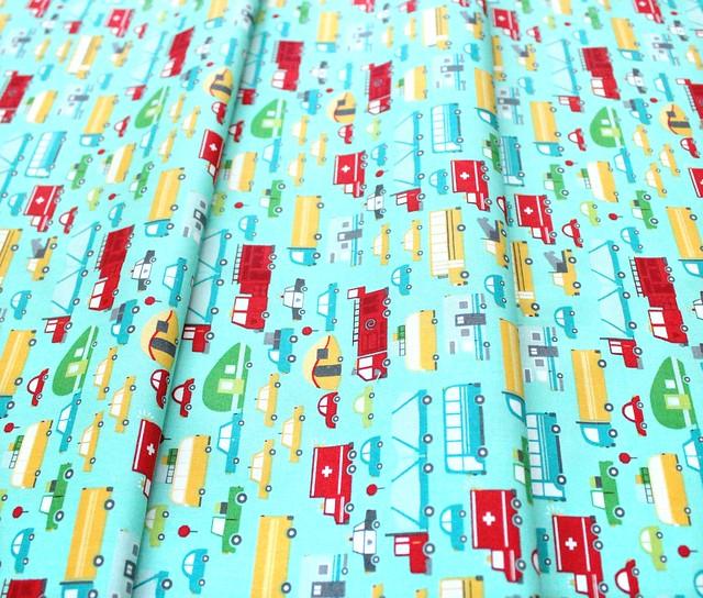 Moda Fabrics On The Go 20721-12 Beep Beep Jet Stream