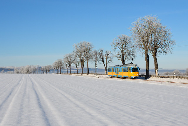 Winterwunderland Thüringerwaldbahn