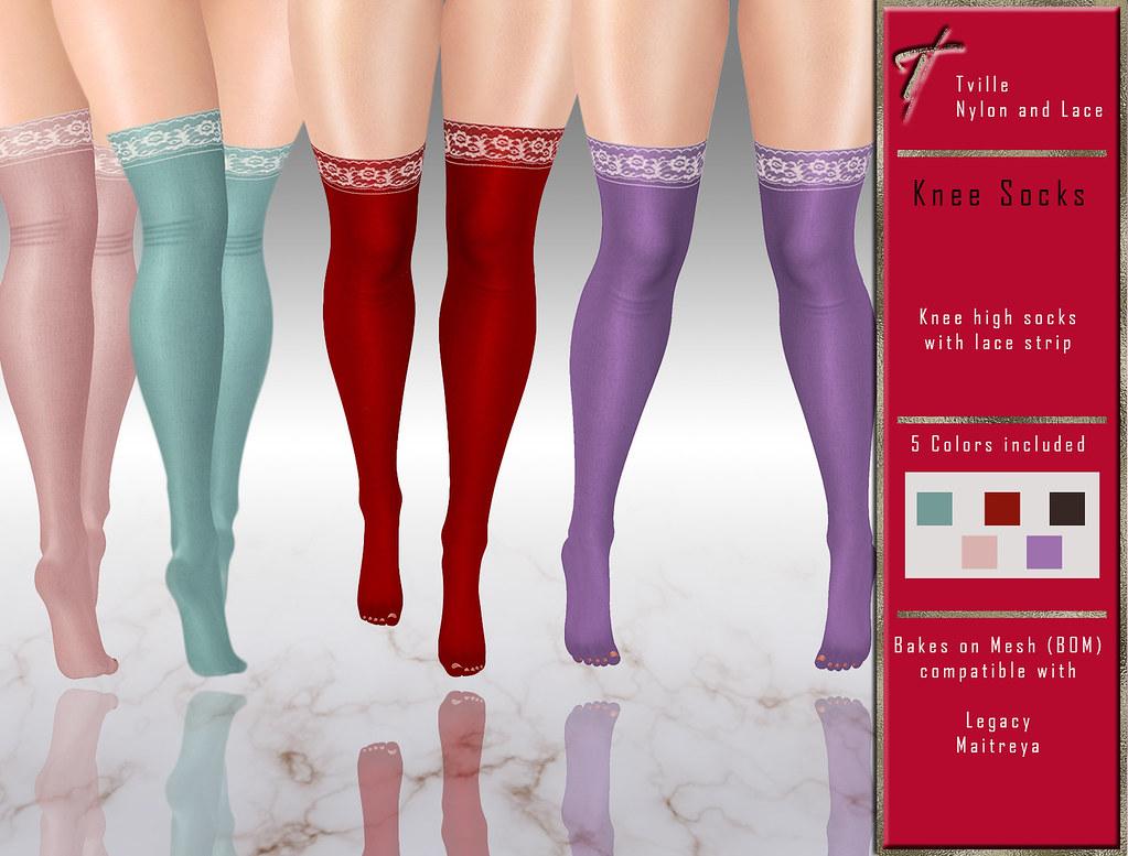 Tville - Knee Socks
