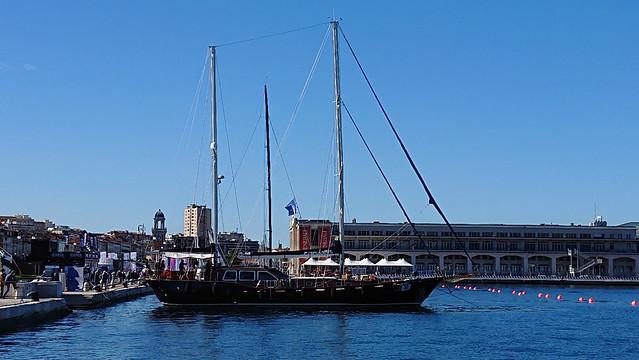 Monte Cristo tall ship