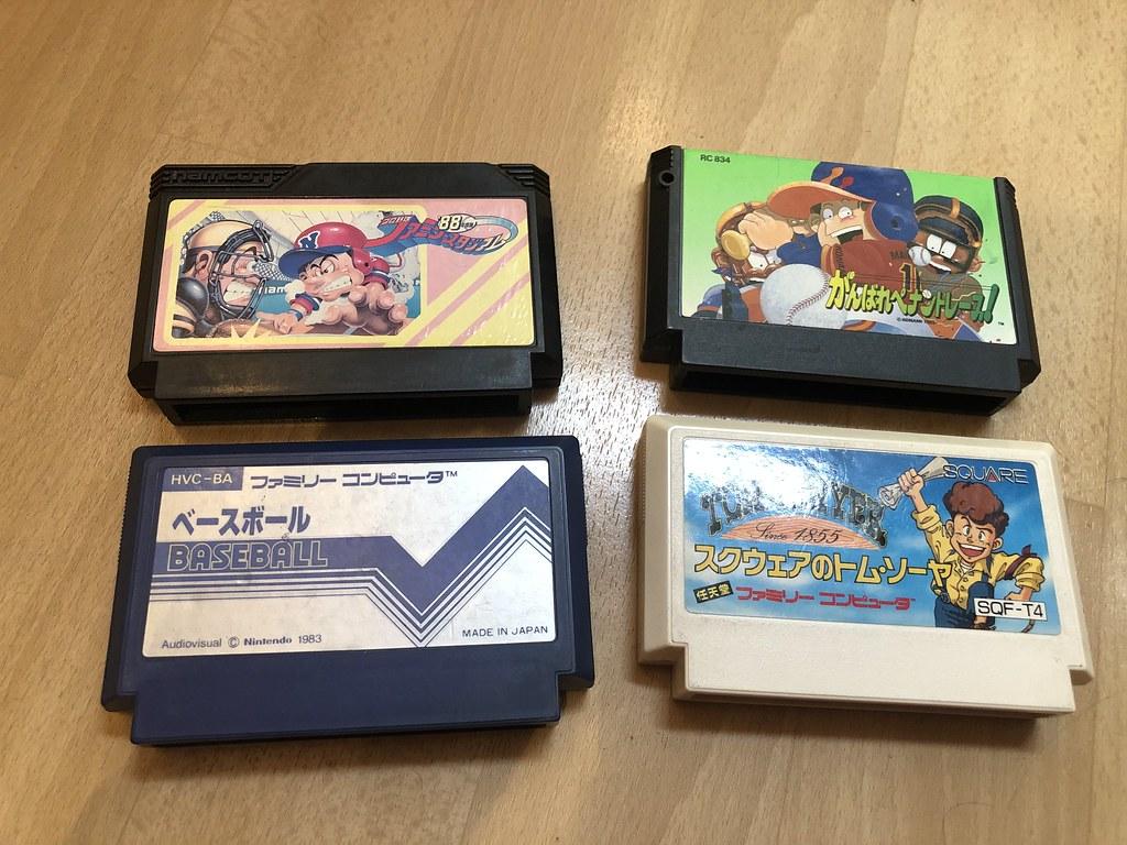 [VDS] Mother 3 GBA en anglais, 2 jeux NES, SFAM, FAM 50952498777_1ab76c3d47_b