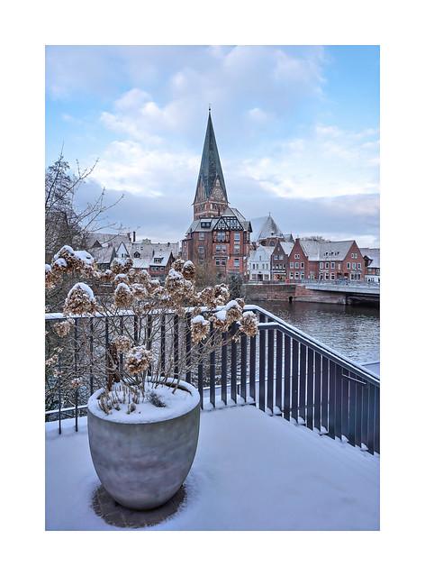 Lüneburg - Blick auf die St.Johanniskirche