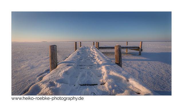 frozen lake!