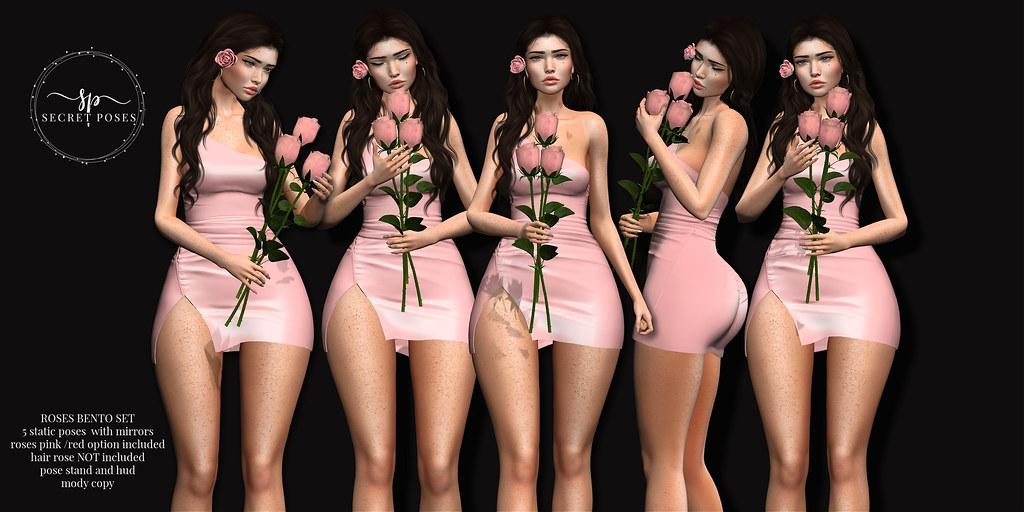 Secret Poses – Roses @TLC