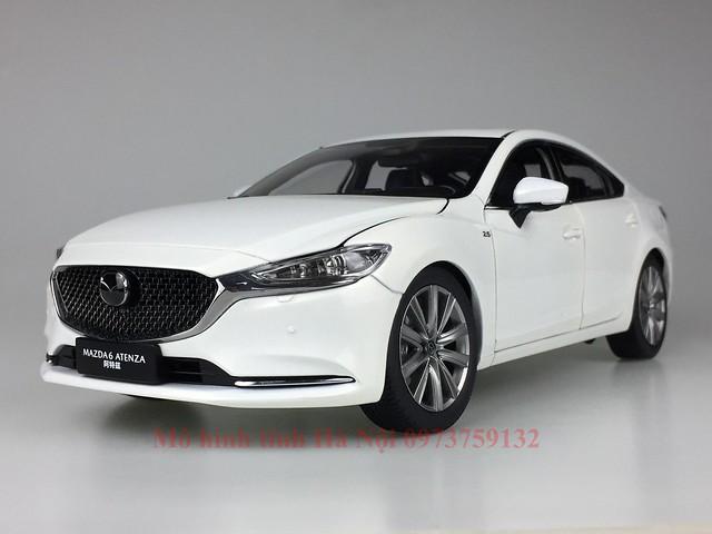 mo hinh o to mazda 6 2021 xe hoi diecast model car san pham qua tang Paudi 1 18