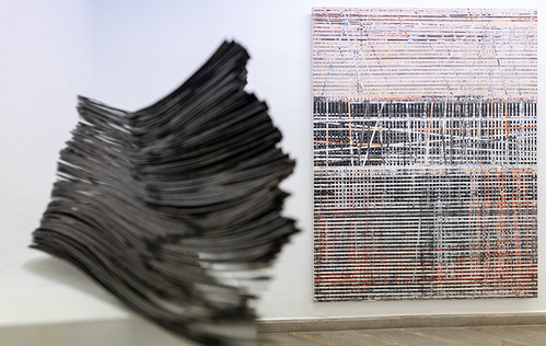 Exposición 'Línia, ferro, tinta...'_Galeria Cànem