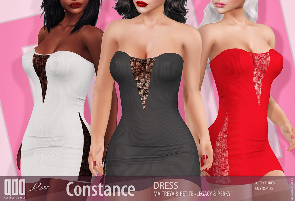 New release – [ADD] Constance Dress
