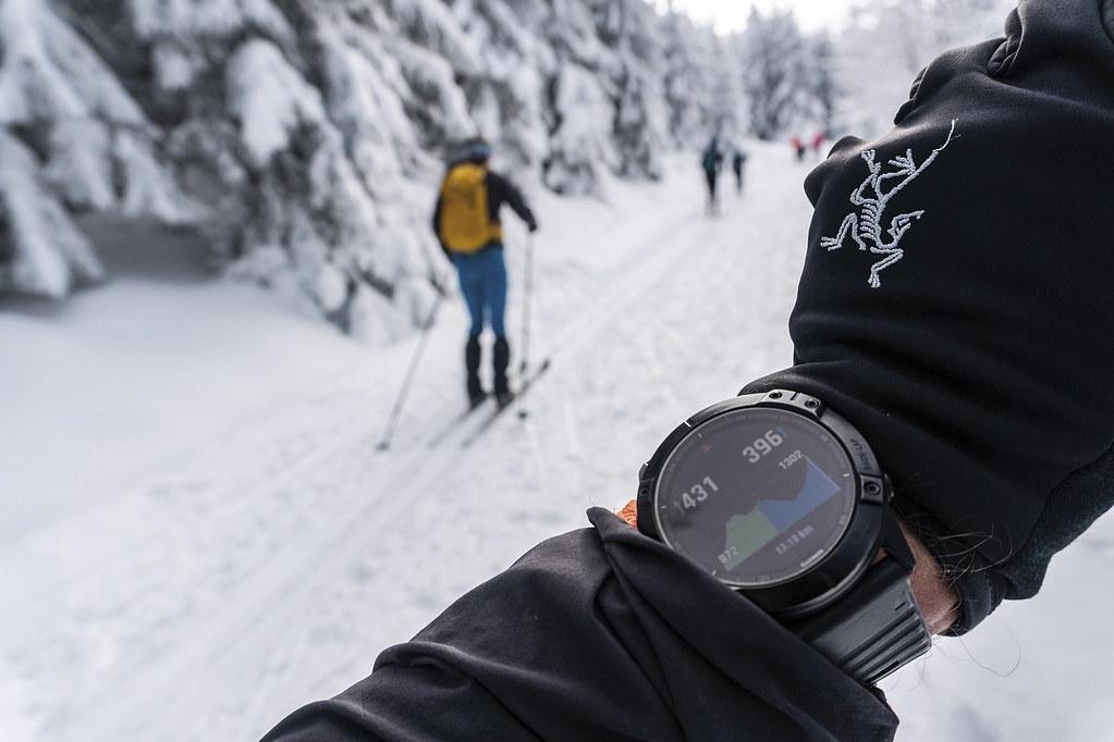 Garmin Fenix 6× na skialpové túře