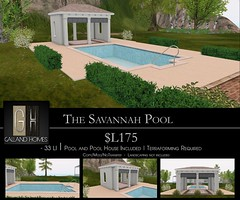 Savanna Pool by Galland Homes