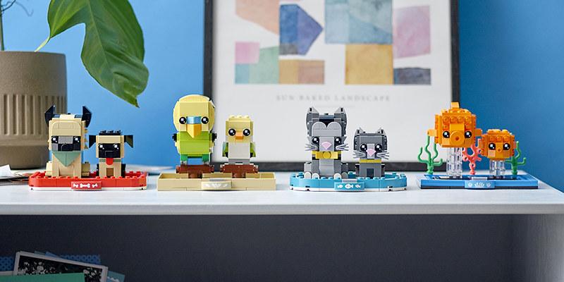 LEGO BrickHeadz Pets 2