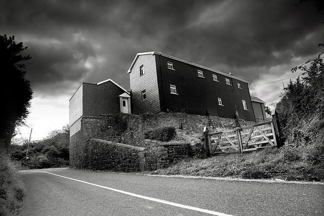Abandoned Station, Ireland.