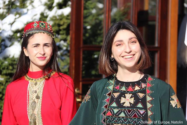 Georgian and Armenian national days at Natolin