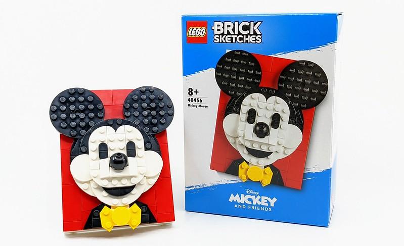 LEGO Disney Brick Sketches Mickey & Minnie