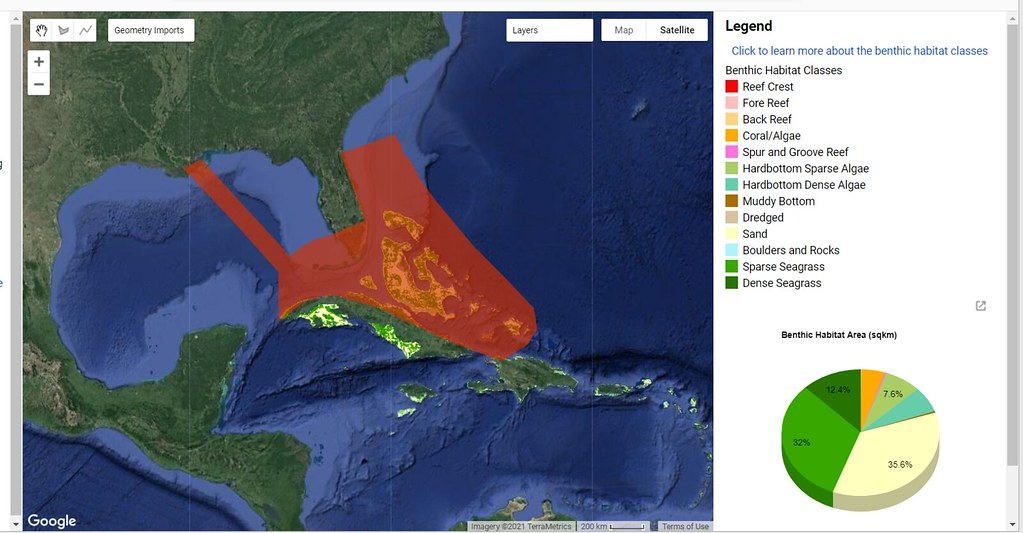 BPC Area of Impact from an oil spill