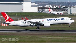 Turkish Airlines A350-941  msn 442 F-WZGK / TC-LGD
