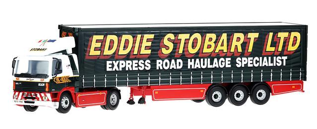 Leyland DAF 85 - H210 - 4x2 artic with tri-axle trailer - Eddie Stobart - N210 YRM - Susan Anne - Corgi 75403