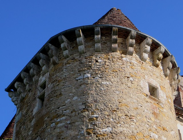 Château de Ceint d'Eau, début XVIe siècle, Figeac, Quercy, Lot, Occitanie, France.