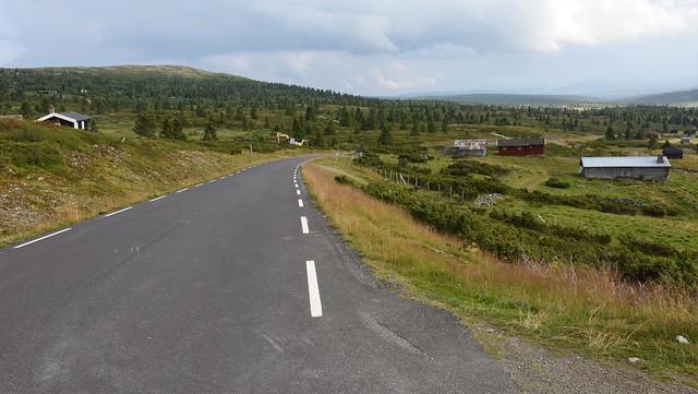 Friisvegen mot Søre Bjørge